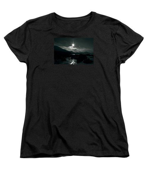 Eight Pointed Star  Women's T-Shirt (Standard Cut) by Aidan Moran