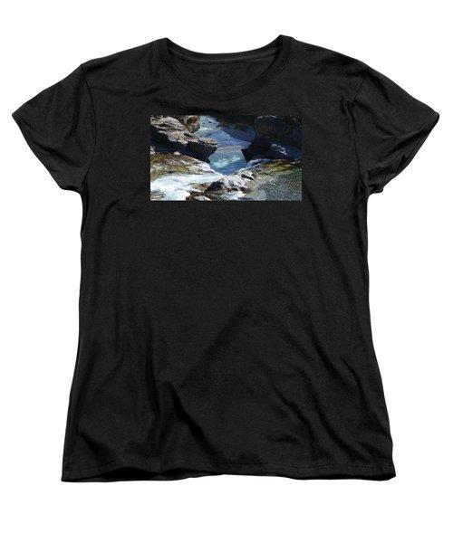 Elbow Falls Women's T-Shirt (Standard Cut) by Cheryl Miller