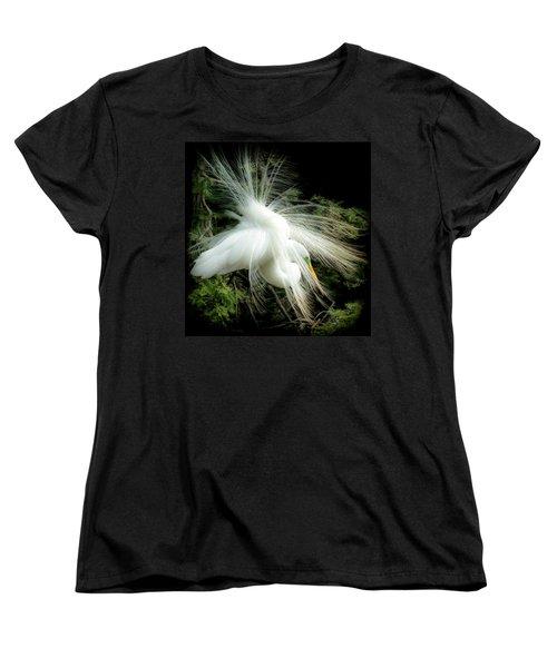 Elegance Of Creation Women's T-Shirt (Standard Cut) by Karen Wiles