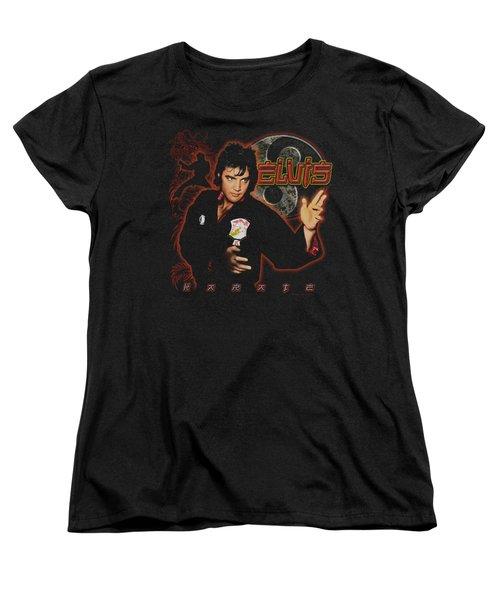 Elvis - Karate Women's T-Shirt (Standard Cut) by Brand A