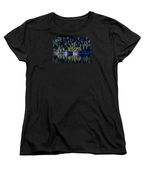 Women's T-Shirt (Standard Cut) featuring the photograph Emerald Bay Teahouse by Sean Sarsfield