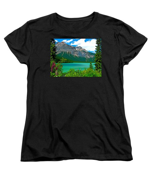 Emerald Lake In Yoho Np-bc Women's T-Shirt (Standard Cut) by Ruth Hager