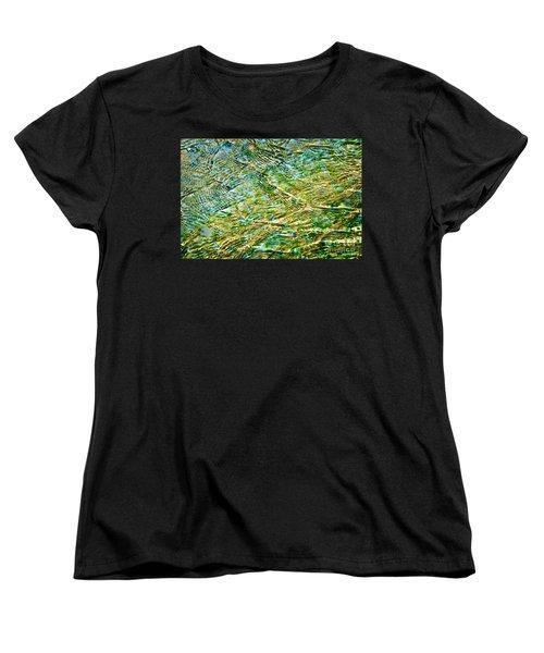 Emerald Water Women's T-Shirt (Standard Fit)