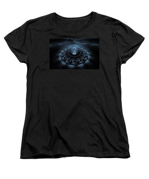 Emergence1 Women's T-Shirt (Standard Cut) by GJ Blackman