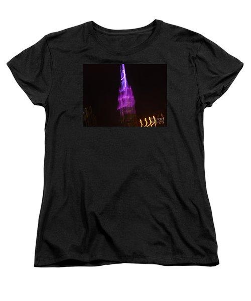 Empire Light Blur Women's T-Shirt (Standard Cut) by Paulo Guimaraes