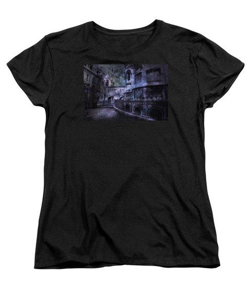 Enchanted Castle Women's T-Shirt (Standard Cut) by Evie Carrier