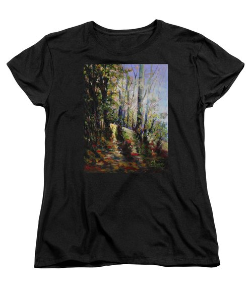 Enchanted Forest Women's T-Shirt (Standard Cut) by Sher Nasser