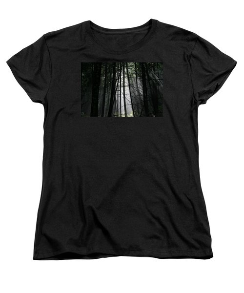 Encounter Of The Vermont Kind No.2 Women's T-Shirt (Standard Cut) by Neal Eslinger