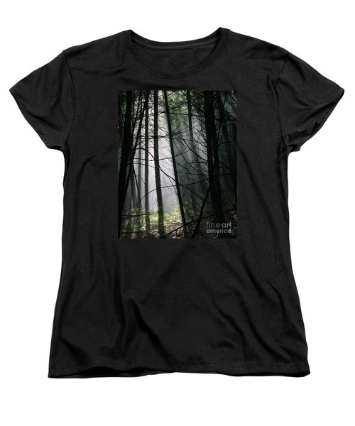 Encounters Of The Vermont Kind  Women's T-Shirt (Standard Cut) by Neal Eslinger