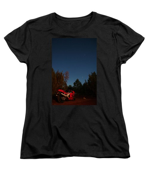 Women's T-Shirt (Standard Cut) featuring the photograph End Of The Day by David S Reynolds