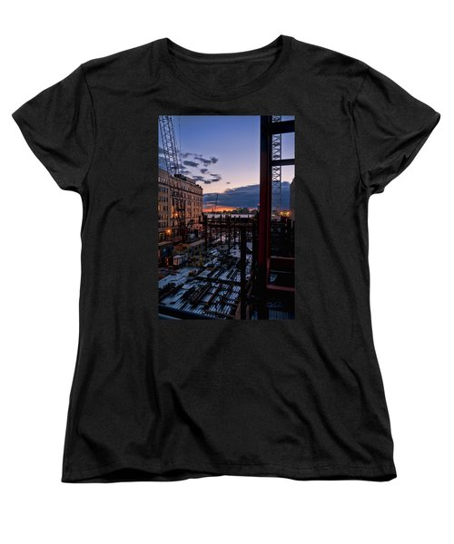 End Of The Day Women's T-Shirt (Standard Cut) by Steve Sahm