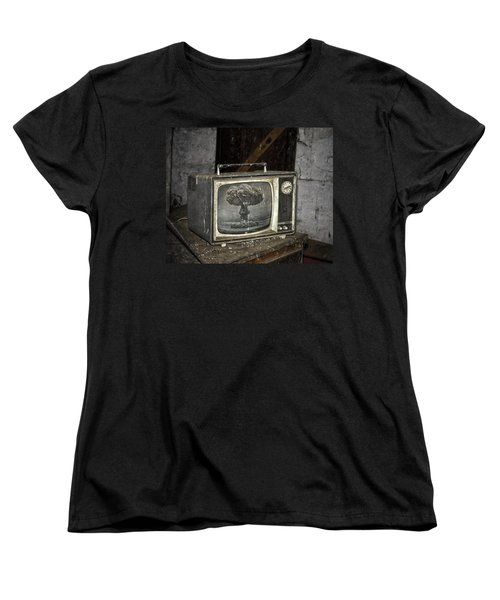 End Of The Show  Women's T-Shirt (Standard Cut) by Jerry Cordeiro