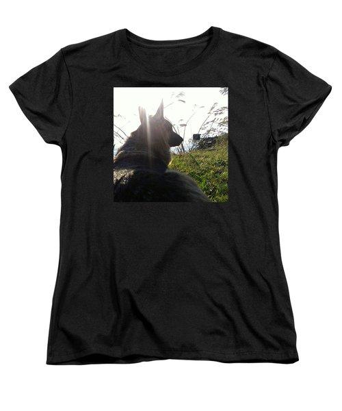 Enjoying The Day Women's T-Shirt (Standard Cut)