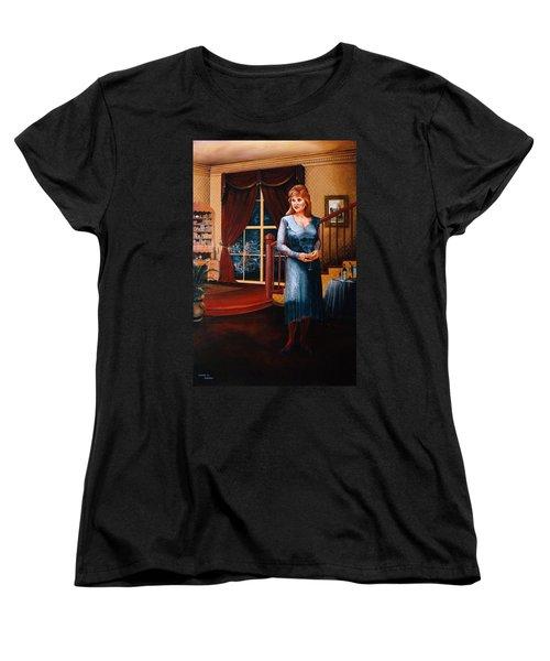 Delaina Women's T-Shirt (Standard Cut) by Duane R Probus