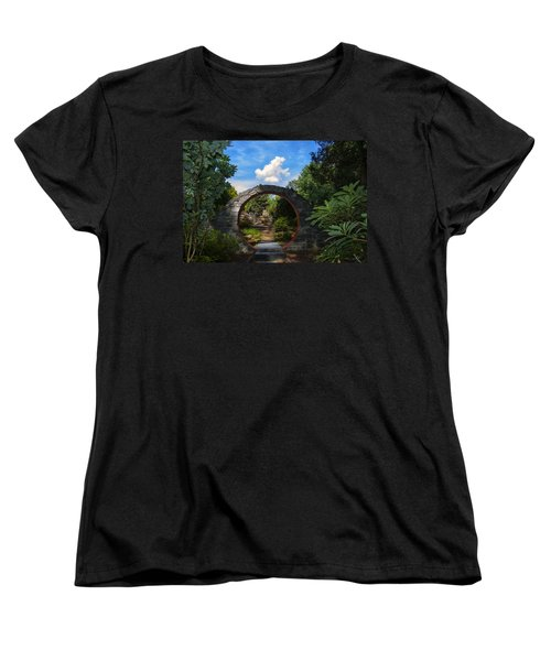 Entering The Garden Gate Women's T-Shirt (Standard Cut)