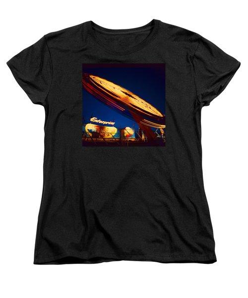Enterprise Women's T-Shirt (Standard Cut) by Don Spenner