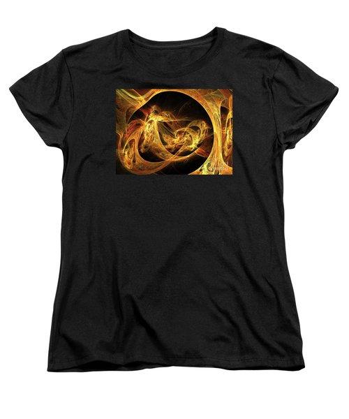 Epoch Women's T-Shirt (Standard Cut) by Kim Sy Ok