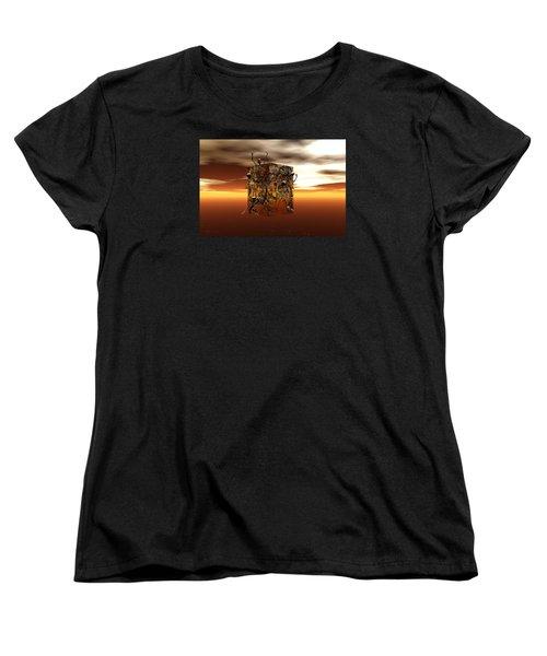 Escape Attempt Women's T-Shirt (Standard Cut) by Claude McCoy