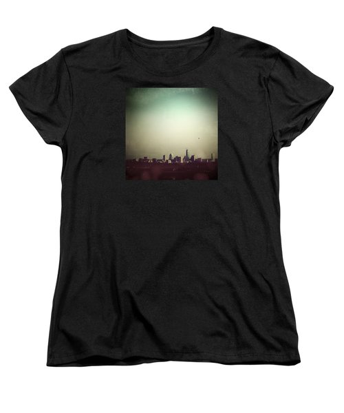 Escaping The City Women's T-Shirt (Standard Cut) by Trish Mistric