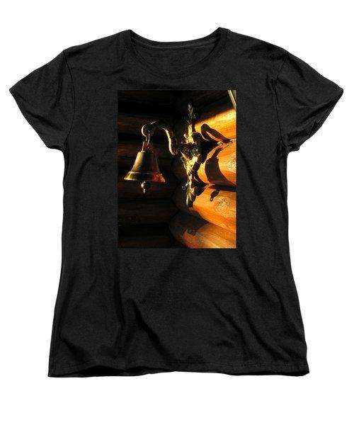 Women's T-Shirt (Standard Cut) featuring the photograph Evening Bell by Leena Pekkalainen
