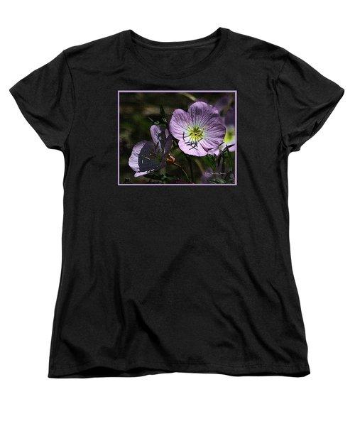 Evening Primrose Women's T-Shirt (Standard Cut) by Tom Janca
