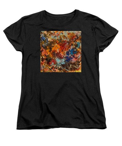 Explosive Chaos Women's T-Shirt (Standard Cut) by Natalie Holland