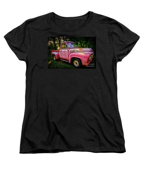 F100 Women's T-Shirt (Standard Cut) by Debra Fedchin