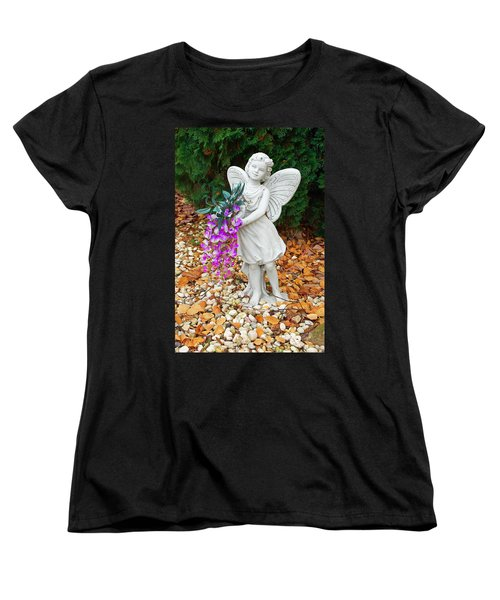 Women's T-Shirt (Standard Cut) featuring the photograph Fairy by Aimee L Maher Photography and Art Visit ALMGallerydotcom