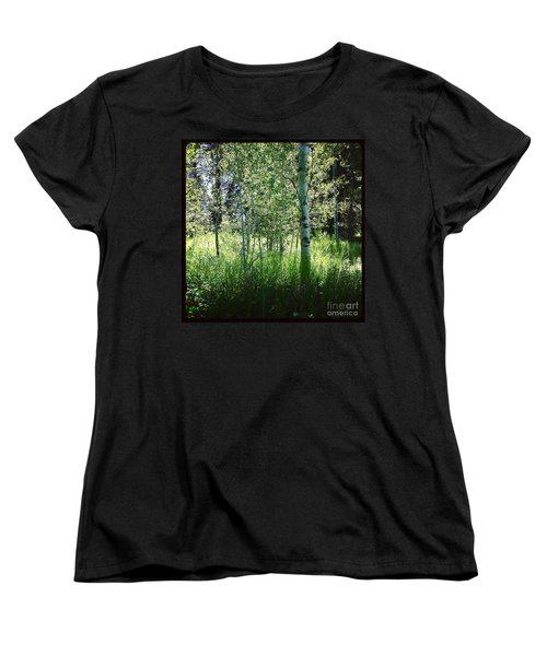 Fairy Circle Women's T-Shirt (Standard Cut) by Meghan at FireBonnet Art