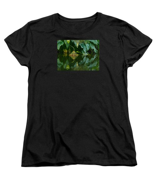 Fairy Pond Women's T-Shirt (Standard Cut) by Evelyn Tambour