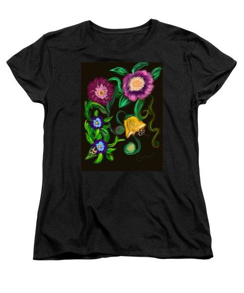 Fairy Tale Flowers Women's T-Shirt (Standard Cut)