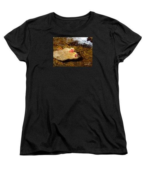 Fall Colors 6348 Women's T-Shirt (Standard Cut) by En-Chuen Soo