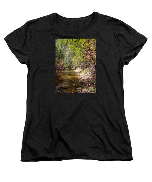 Fall Colors 6379 Women's T-Shirt (Standard Cut) by En-Chuen Soo