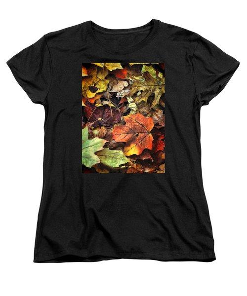 Fall Colors Women's T-Shirt (Standard Cut) by Lyle Hatch