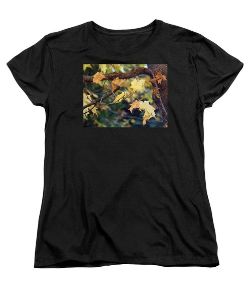 Fall Foilage Women's T-Shirt (Standard Cut) by Brenda Brown