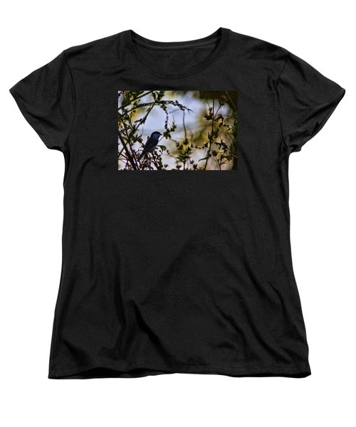 Women's T-Shirt (Standard Cut) featuring the photograph Fall Silhouette by Gary Holmes