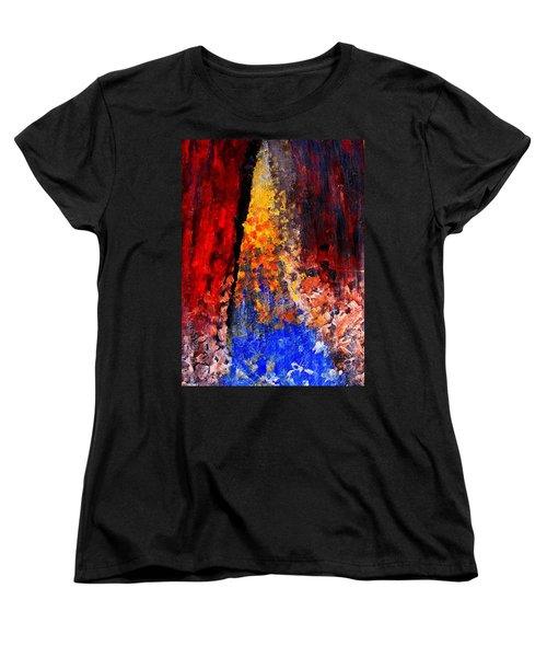 Falling Women's T-Shirt (Standard Cut) by Ian  MacDonald