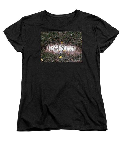 Women's T-Shirt (Standard Cut) featuring the photograph Family Crest by Michael Krek