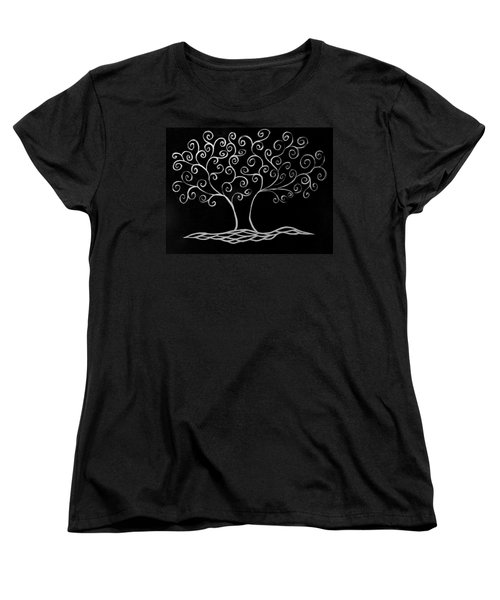 Family Tree Women's T-Shirt (Standard Cut) by Jamie Lynn