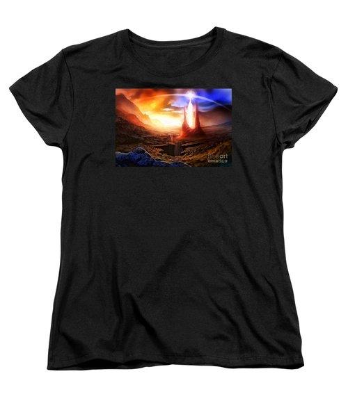 Fantasia Women's T-Shirt (Standard Cut) by Mo T