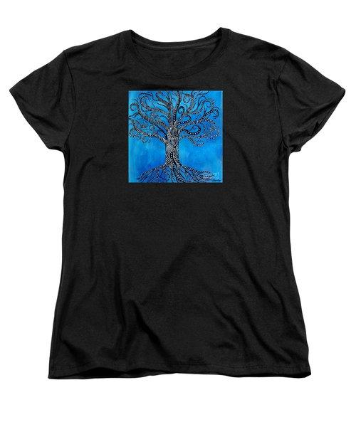 Fantastical Tree Of Life Women's T-Shirt (Standard Cut)