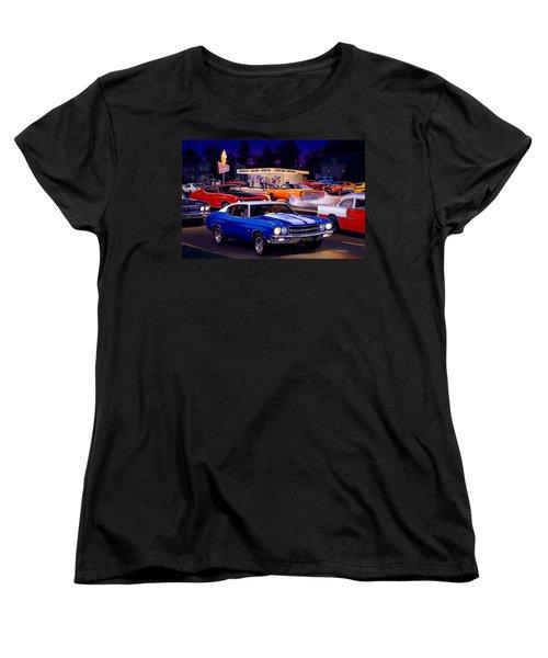 Fast Freds Women's T-Shirt (Standard Cut) by Bruce Kaiser