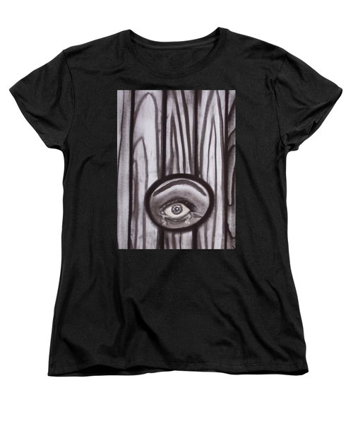 Fear - Eye Through Fence Women's T-Shirt (Standard Fit)