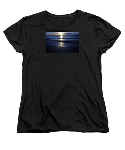 Women's T-Shirt (Standard Cut) featuring the photograph Feeling The Sunset by Kicking Bear  Productions