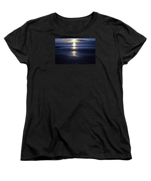 Feeling The Sunset Women's T-Shirt (Standard Cut) by Kicking Bear  Productions