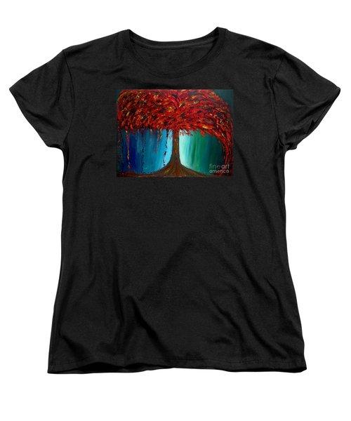 Feeling Willow Women's T-Shirt (Standard Cut) by Ania M Milo