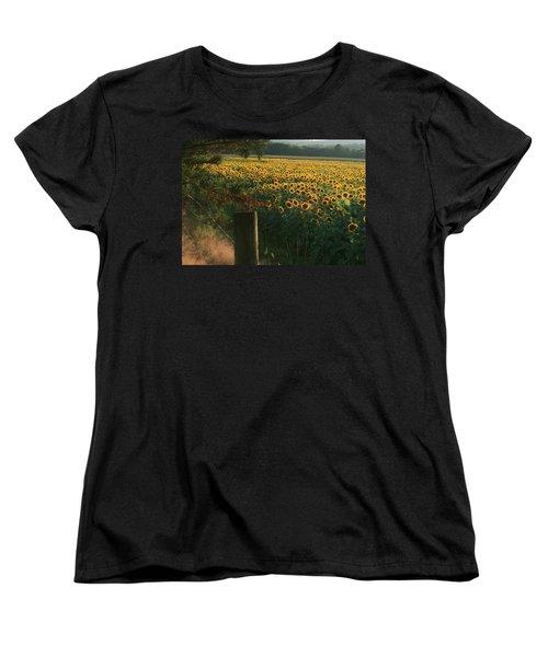 Field Dreams No.2 Women's T-Shirt (Standard Cut) by Neal Eslinger