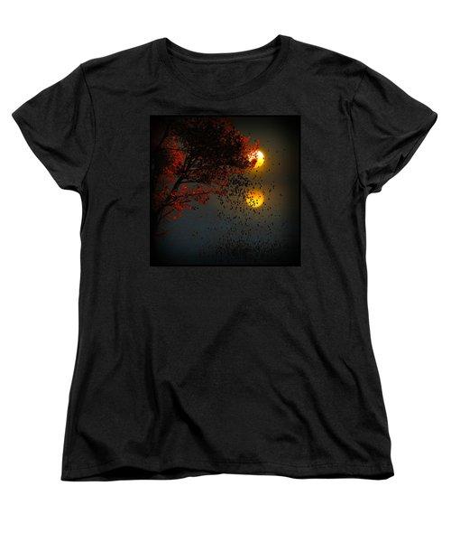 Fiery Fall... Women's T-Shirt (Standard Cut)