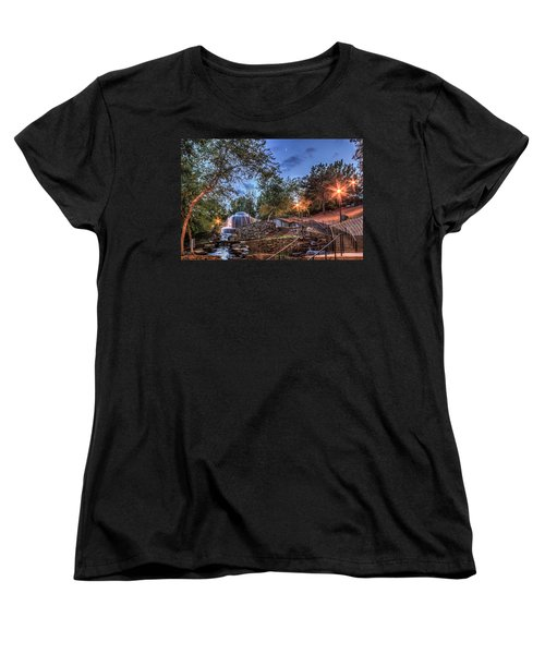 Women's T-Shirt (Standard Cut) featuring the photograph Finlay Park by Rob Sellers