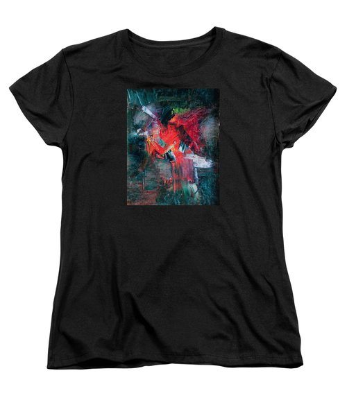 Fire And Ice Women's T-Shirt (Standard Cut) by Lee Beuther